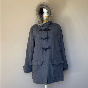 Old Navy Women's Size L Wool Pea Coat